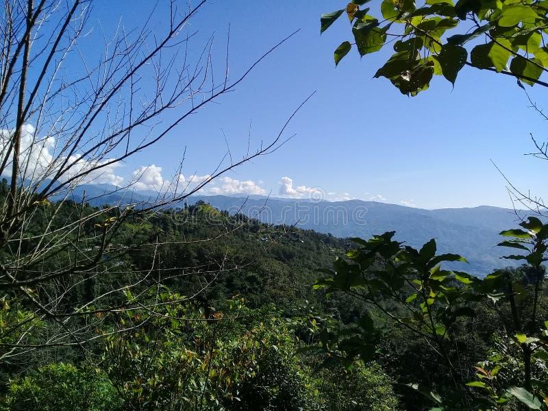 Schöner Ort von Nepal lizenzfreie stockfotos