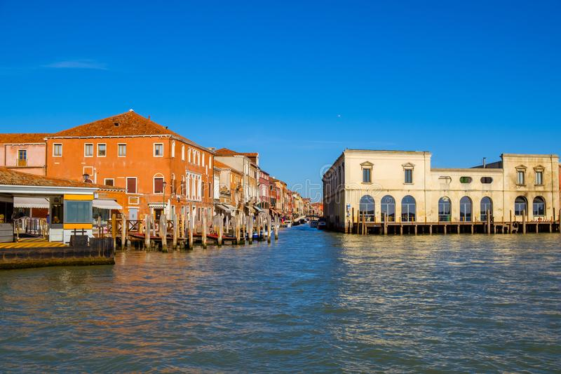 Schöner Panoramablick von Murano lizenzfreies stockbild
