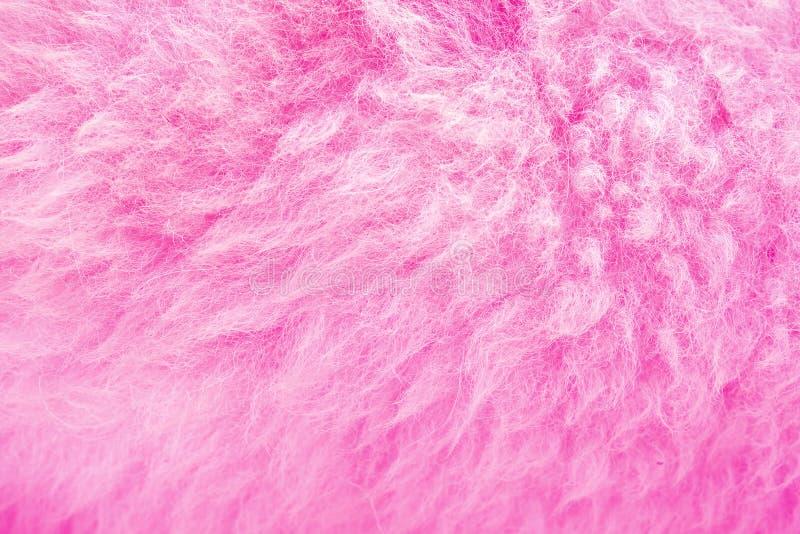 Schöner rosa Vlies-Hintergrund stockfotografie