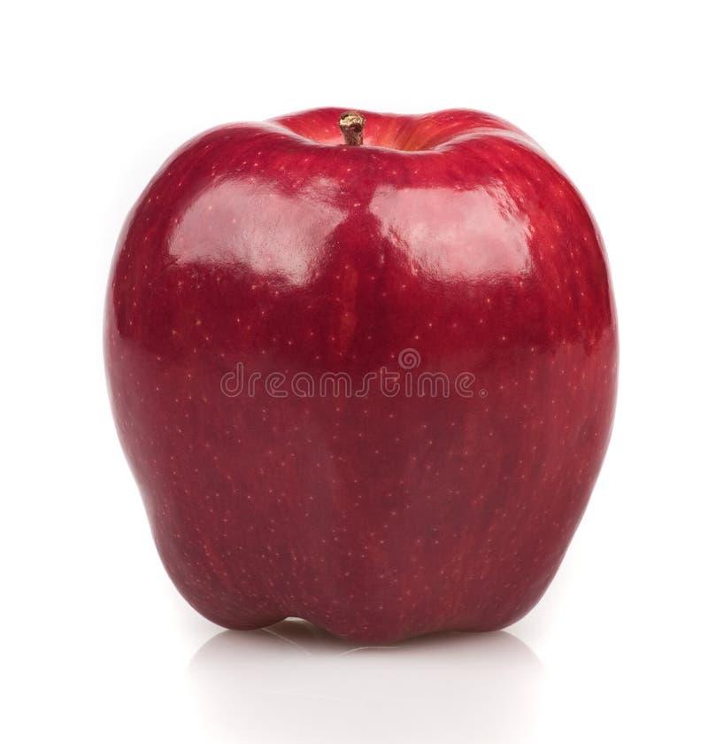 Schöner roter Apfel lizenzfreie stockbilder