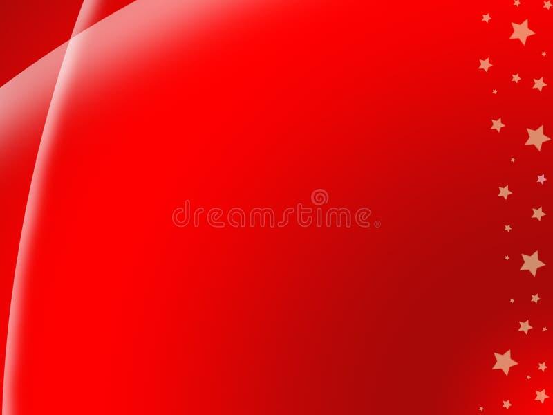 Schöner roter Hintergrund stock abbildung