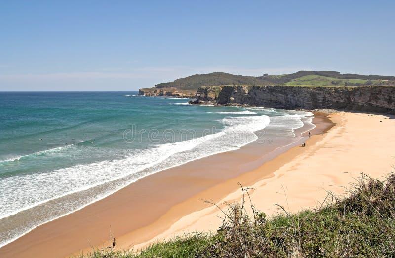Schöner Strand lizenzfreie stockbilder