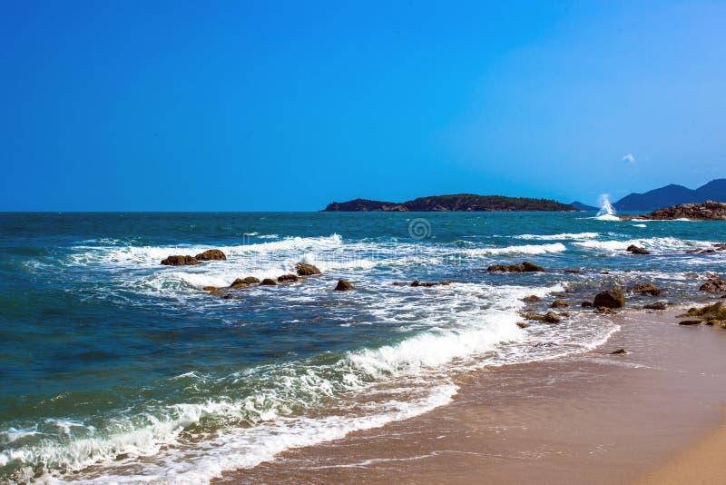 Schöner Strand auf KOH Samui thailand stockbild