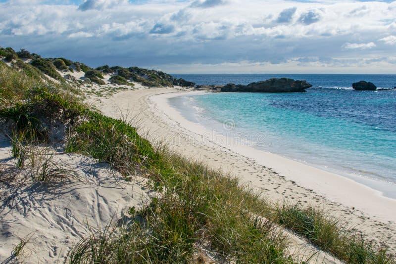 Schöner Strand in Australien stockbild