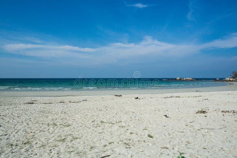 Schöner Strand, Trikora, Bintan Insel-Indonesien stockfotos