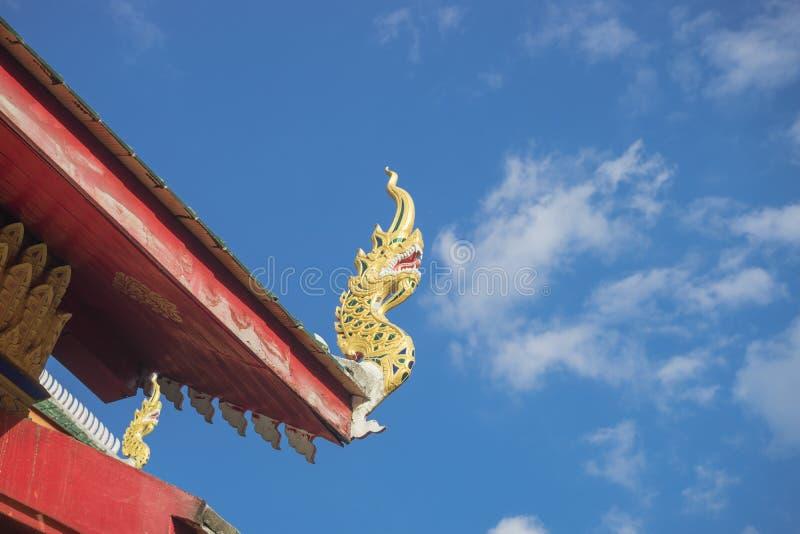 Schöner Tempel lizenzfreie stockfotos