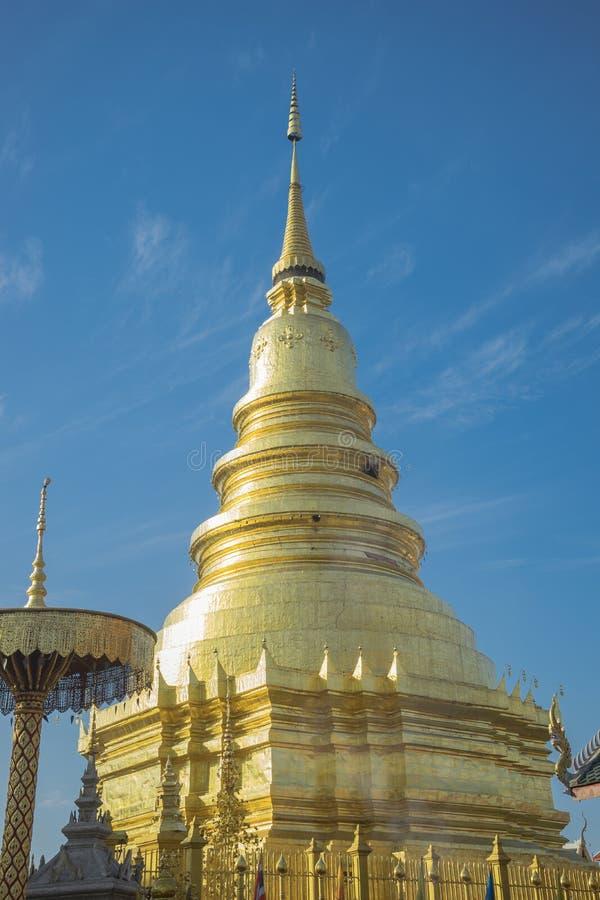 Schöner Tempel stockfoto