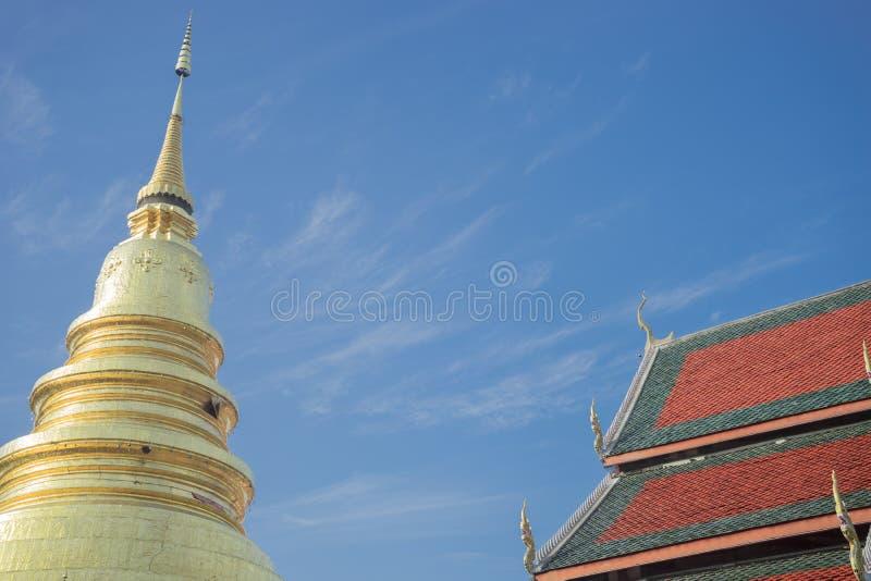 Schöner Tempel lizenzfreie stockfotografie