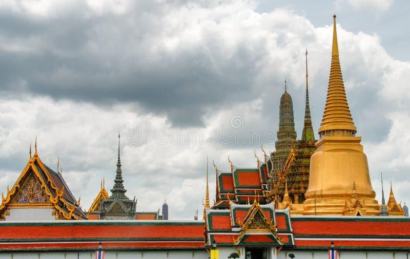 Schöner Tempel von Bangkok, Thailand stockfotos
