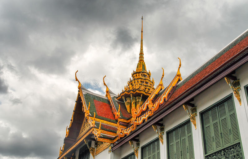 Schöner Tempel von Bangkok, Thailand lizenzfreie stockbilder