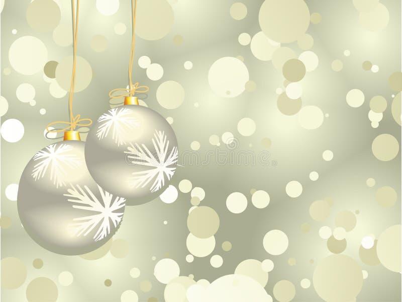 Download Schöner Weihnachtshintergrund Vektor Abbildung - Illustration von kreis, retro: 12202464