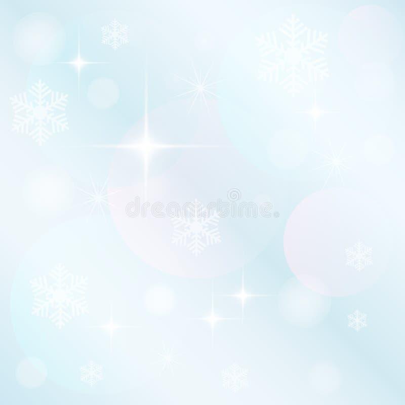 Schöner Weihnachtshintergrund lizenzfreie abbildung