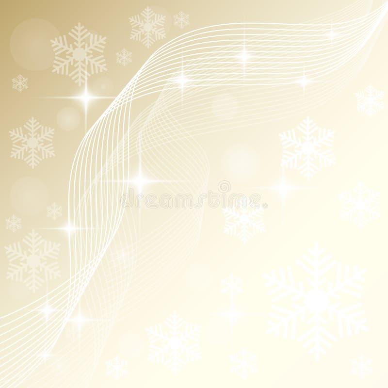 Schöner Weihnachtshintergrund stock abbildung
