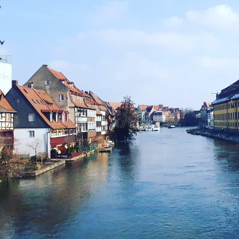 Schönes Bamberg stockfotografie