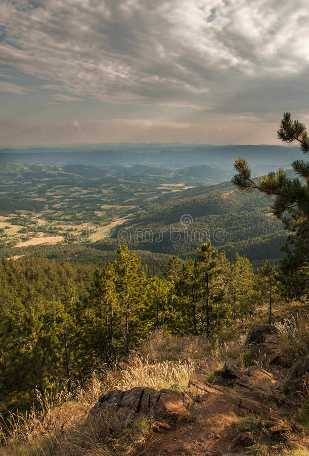 Schönes Berg-landskape stockbilder