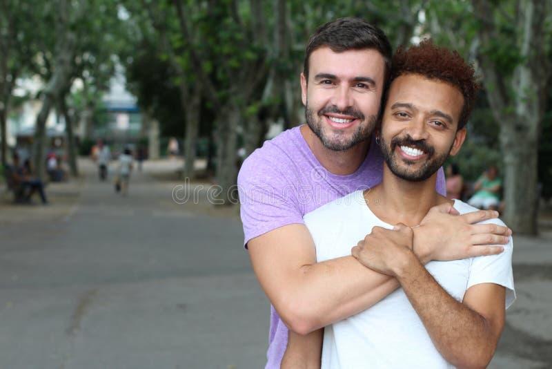 Schönes Bild von homosexuellen Paaren lizenzfreie stockfotos