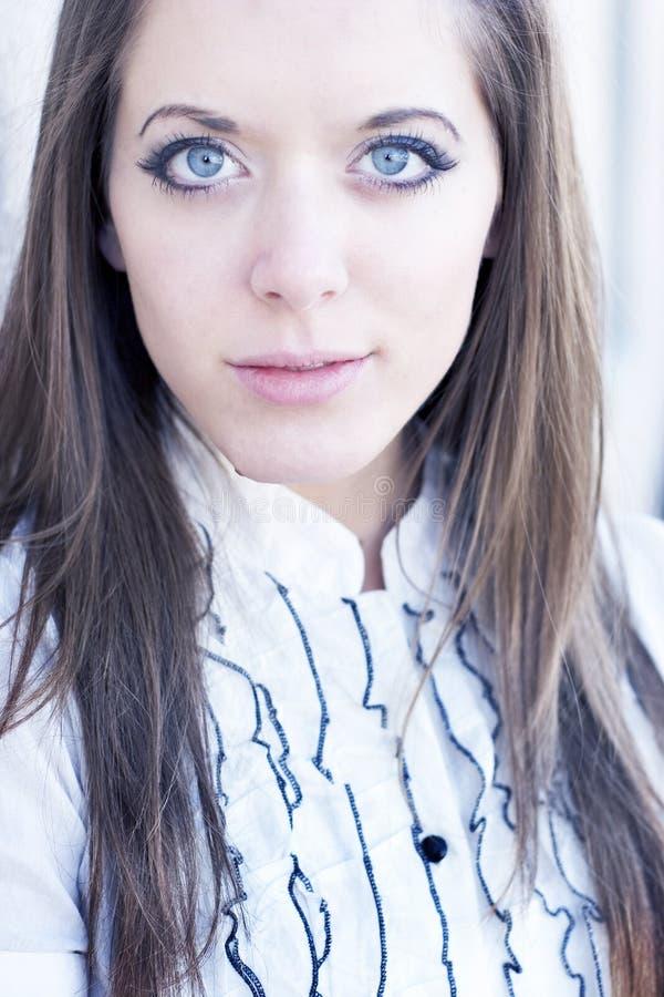 Schönes Blau stockbild