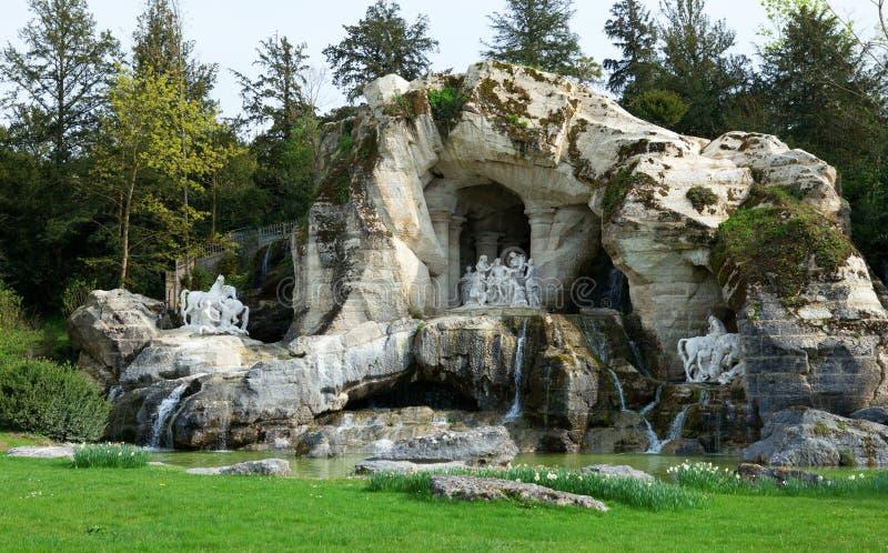 Schönes Brunnen Bains d'Appolon in Versailles stockfotografie