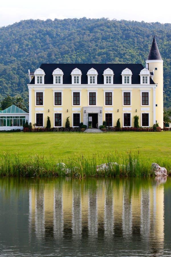 Schönes Chateau stockfoto
