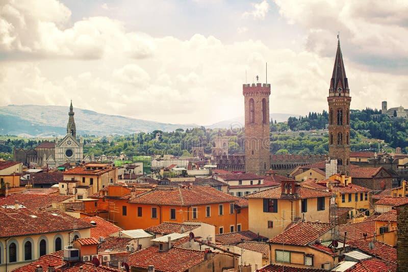 Schönes Florenz stockbilder