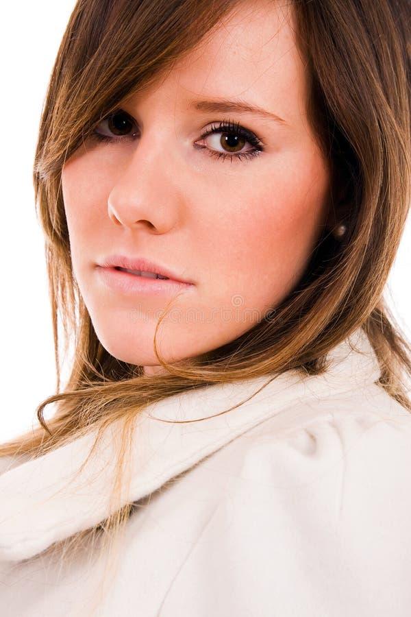 Schönes Frauenporträt lizenzfreies stockbild