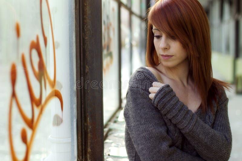 Schönes Frauenportrait stockbilder