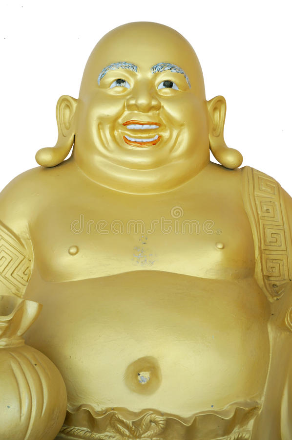 Schönes Gautama Buddha stockbild