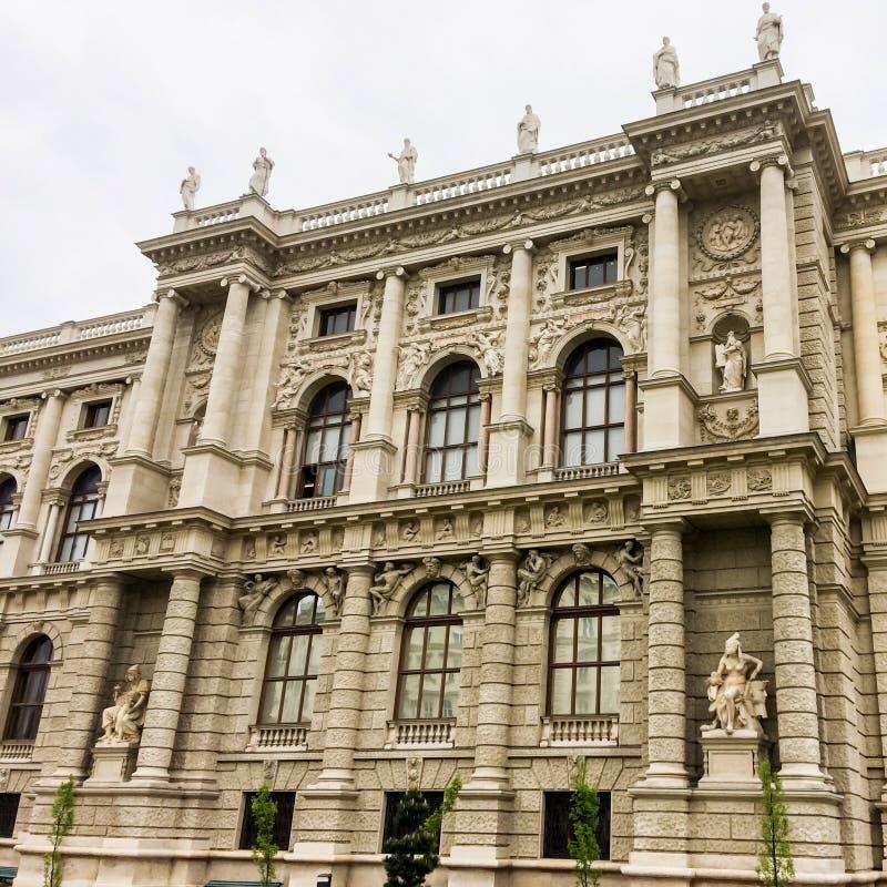 Schönes Gebäude stock abbildung