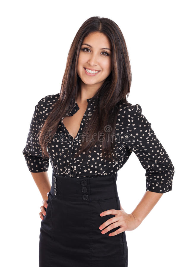 Schönes Geschäftsfrauporträt lizenzfreie stockfotografie