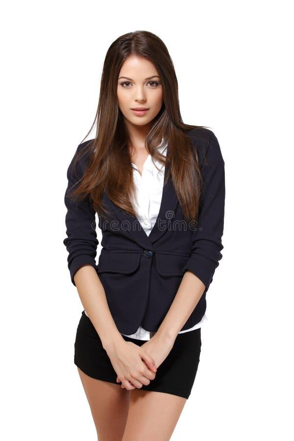 Schönes Geschäftsfrauportrait stockfotos