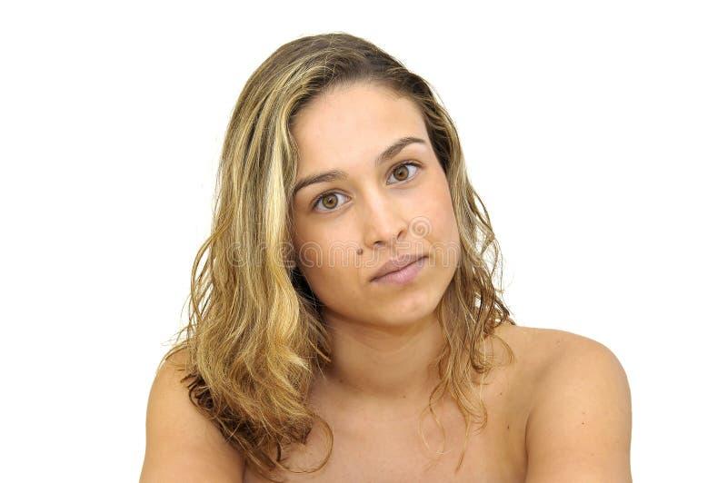 Schönes Gesicht lizenzfreie stockfotografie
