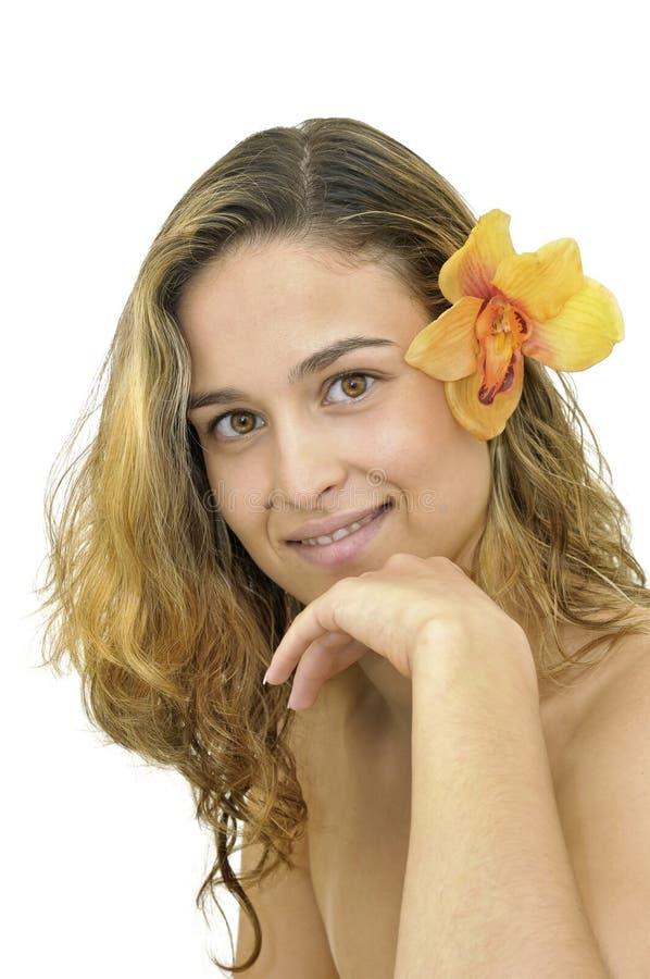 Schönes Gesicht lizenzfreies stockfoto