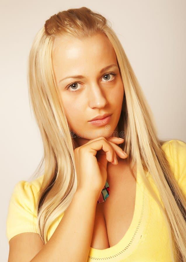 Schönes glamor Mädchen lizenzfreies stockfoto