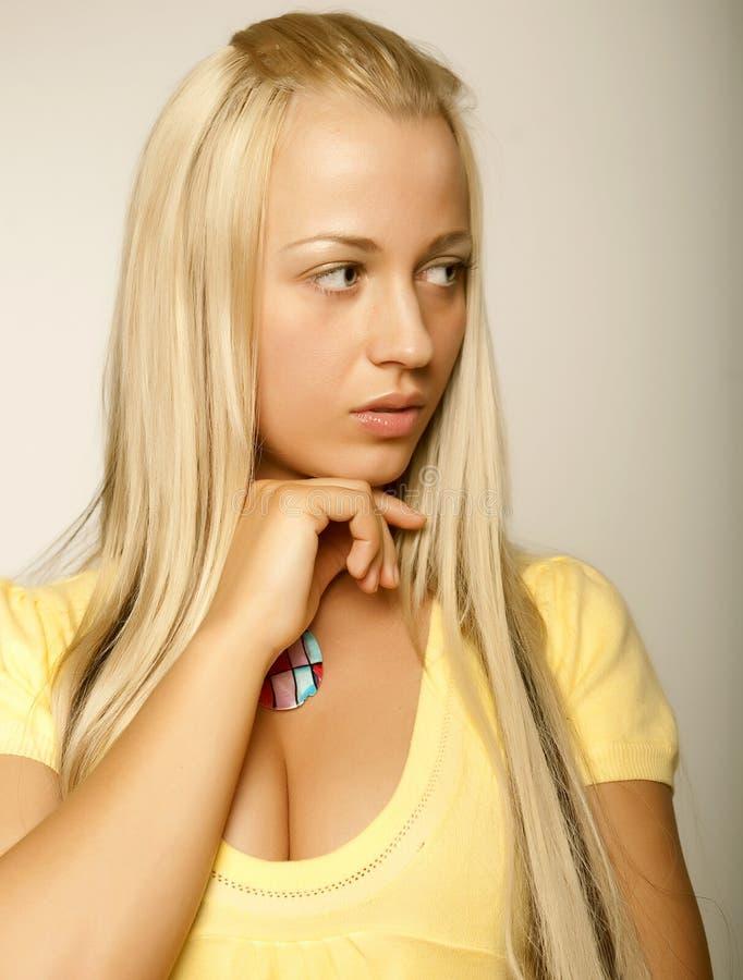 Schönes glamor Mädchen lizenzfreies stockbild