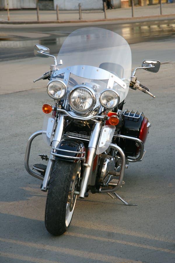 Schönes großes Motorrad. stockfoto