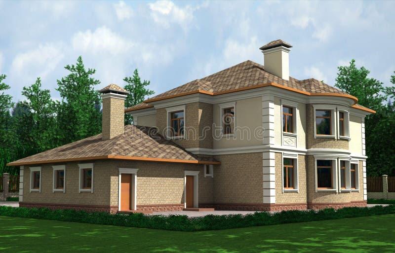 Schönes Haus vektor abbildung
