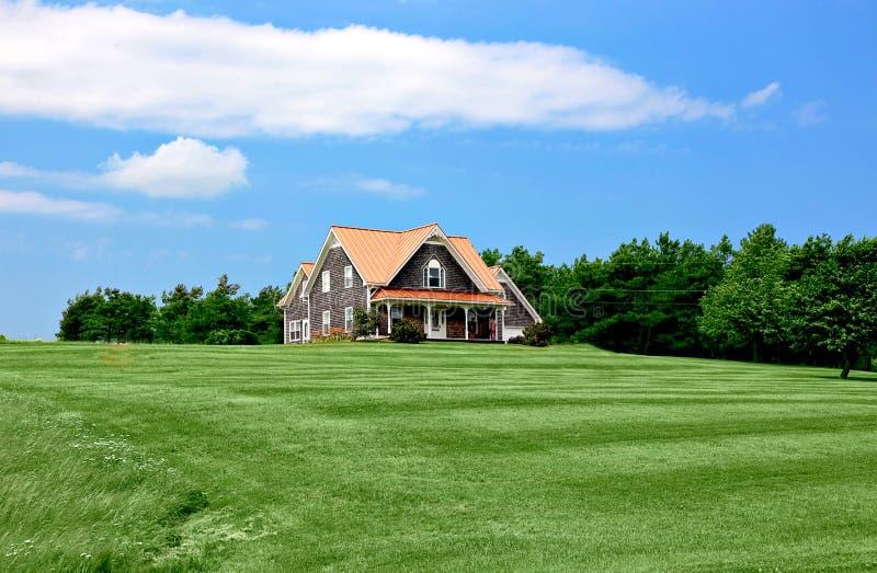 Schönes Haus stockfoto