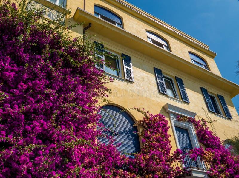 Schönes Haus in Monterosso, Cinque Terre stockfotos
