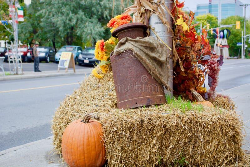 Schönes Herbstthema lizenzfreies stockfoto