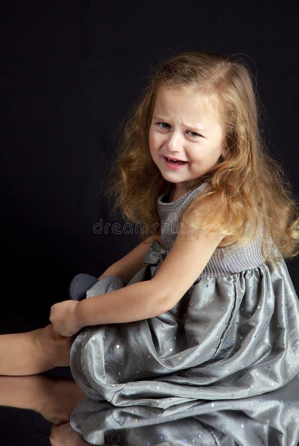 Schönes junges Mädchen stockbild