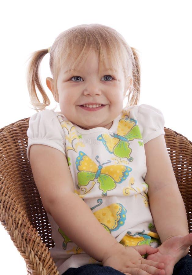 Schönes junges Mädchen lizenzfreies stockfoto