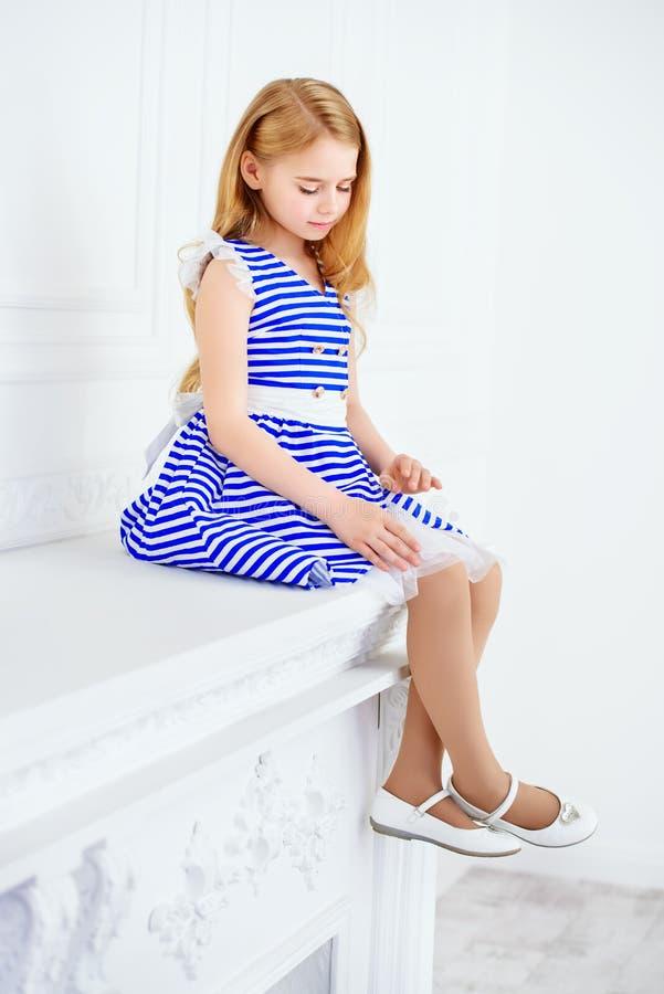 Schones Kleid Fur Madchen Stockbild Bild Von Emotional 94214109