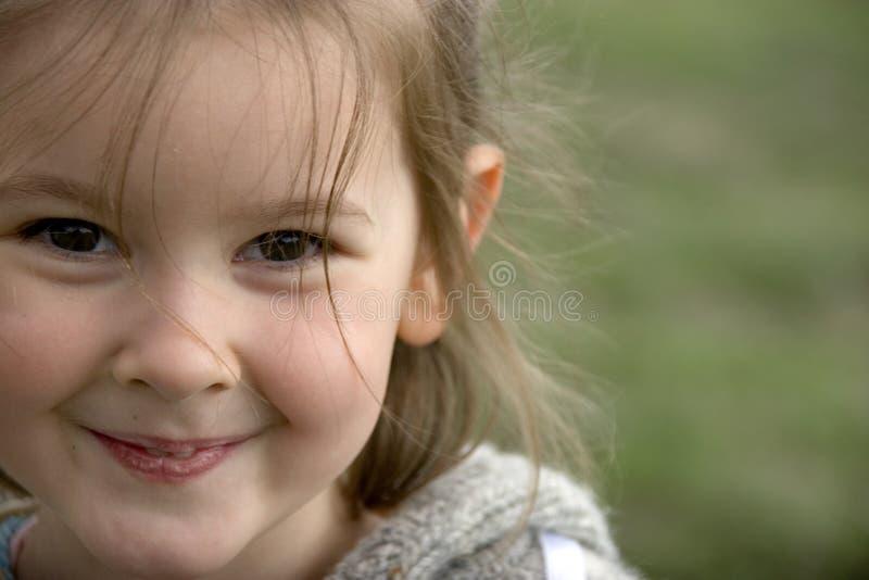 Schönes Lächeln stockfotografie
