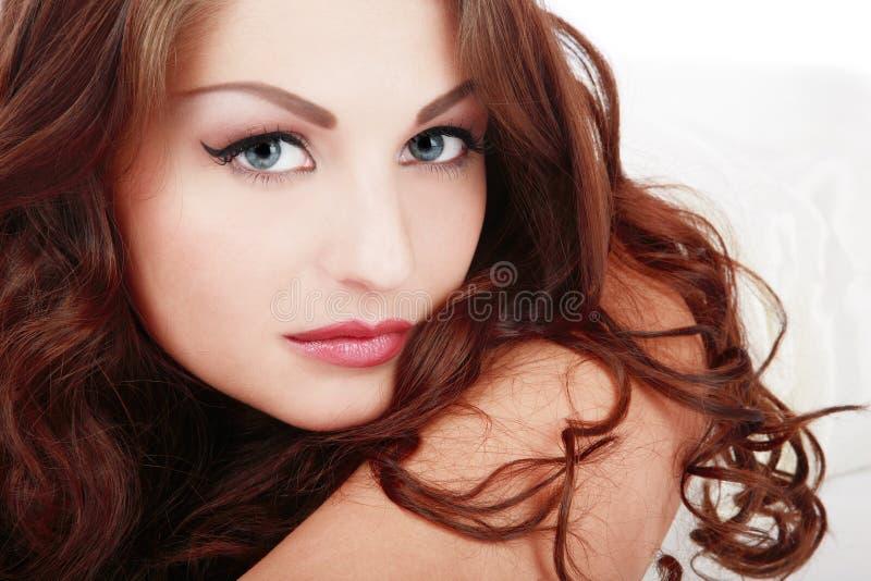 Schönes Mädchen lizenzfreies stockbild