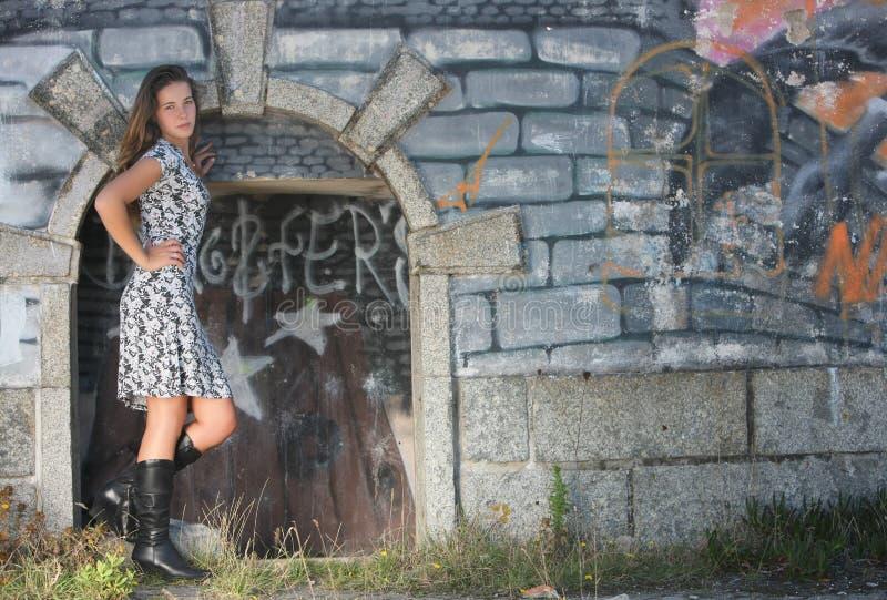 Schönes Mädchen lizenzfreie stockfotos