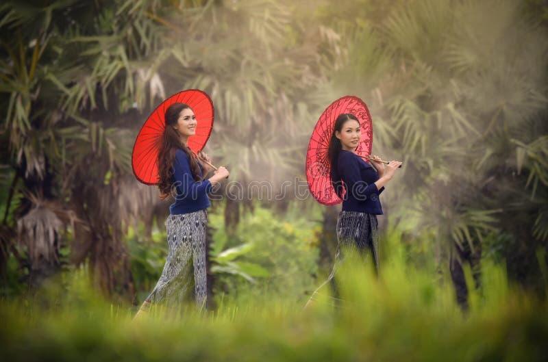 schönes Mädchen Thailand stockfoto