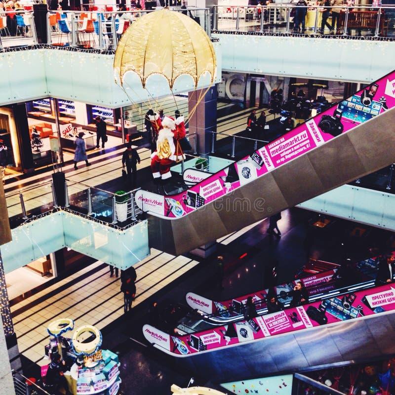 schönes Mall Mallmoskaus Russland stockfoto