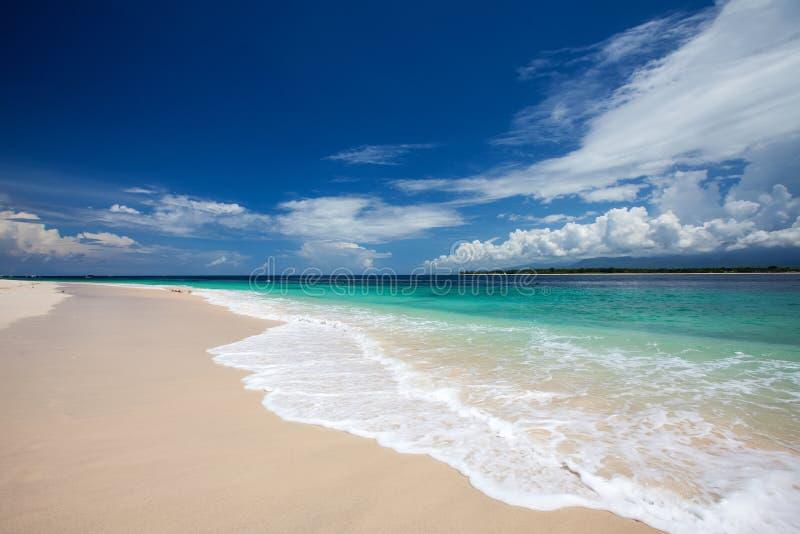 Schönes Meer und Küstenlinien, Tropen stockbilder