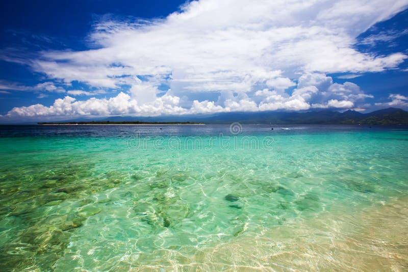 Schönes Meer und Küstenlinien, Tropen lizenzfreies stockfoto