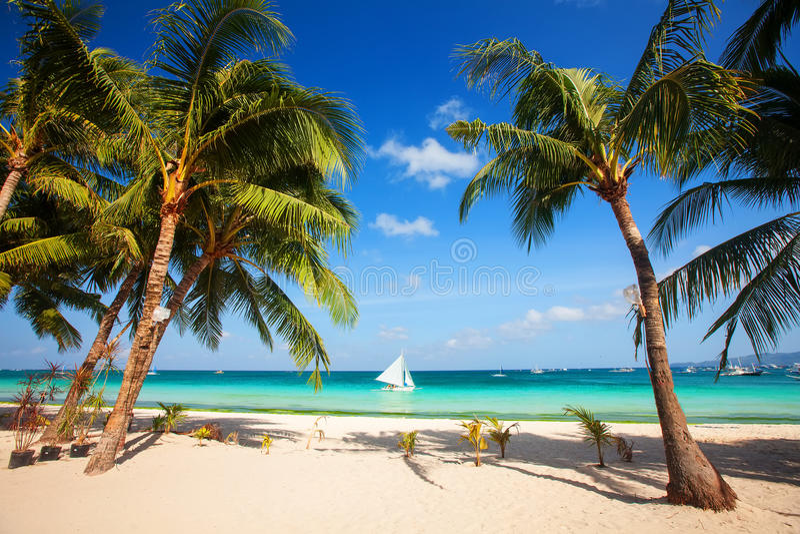 Schönes Meer und Küstenlinien, Tropen lizenzfreie stockbilder